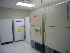 Freezer and refrigerator monitoring