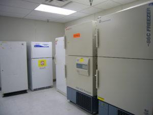 Freezer and refrigerator monitoring